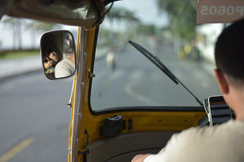 カンボジアのGRABタクシー