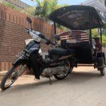 カンボジアのトゥクトゥク